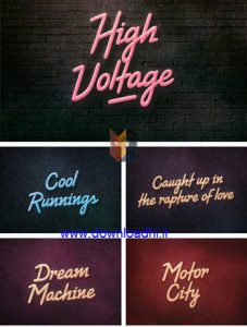 High Voltage Font Family