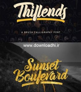 Thillends Font Family